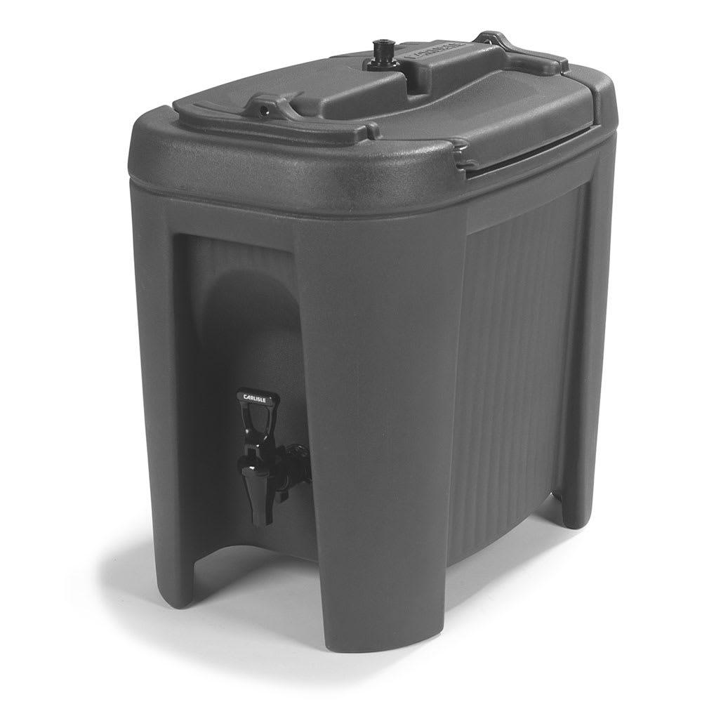 Carlisle XB303 3-gal Beverage Dispenser - Insulated, Polyethylene, Black
