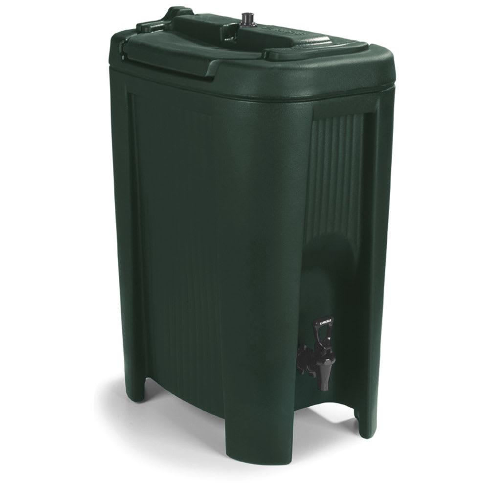 Carlisle XB508 5 gal Beverage Dispenser - Insulated, Polyethylene, Forest Green