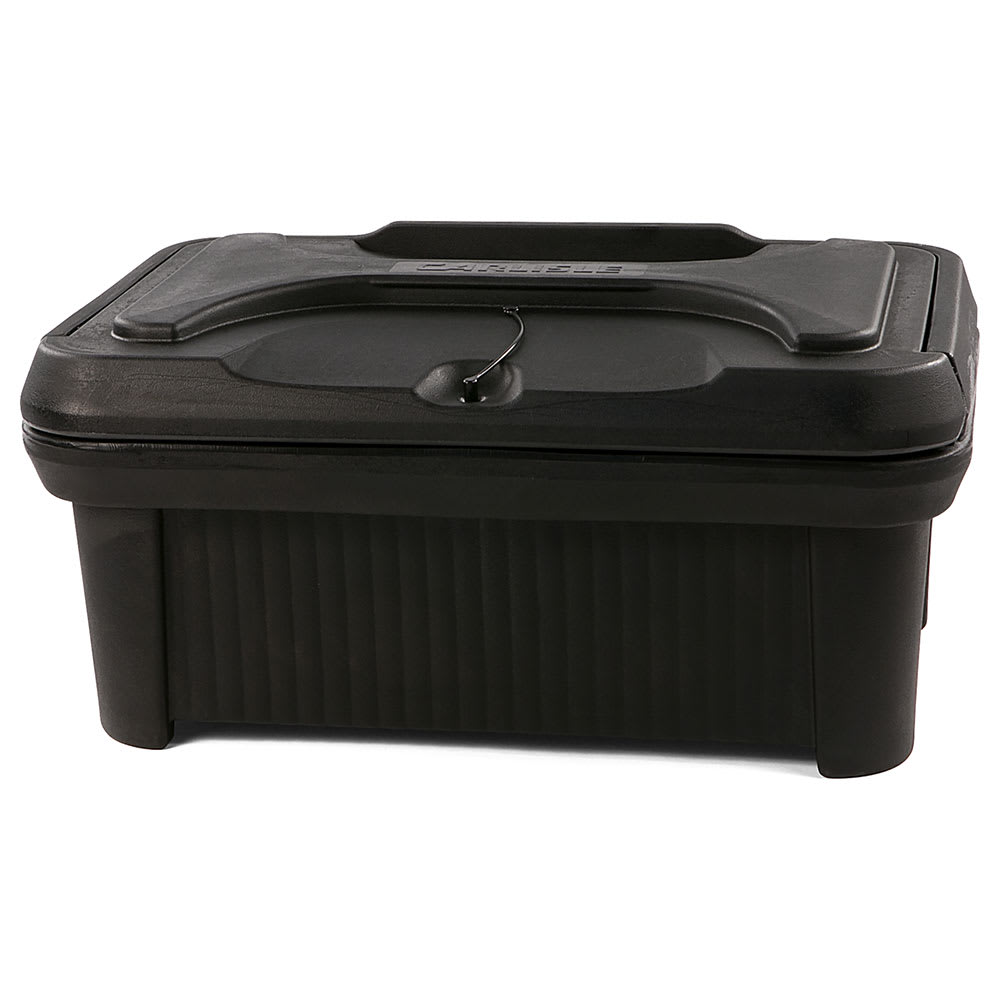 Carlisle XT160003 Cateraide™ Insulated Food Carrier - 18 qt w/ (1) Pan Capacity, Black