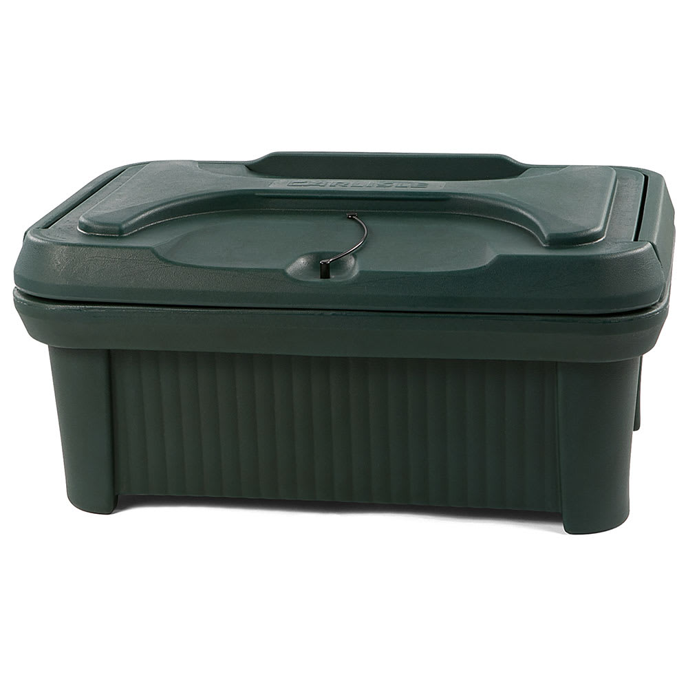 Carlisle XT160008 Cateraide™ Insulated Food Carrier - 18 qt w/ (1) Pan Capacity, Green