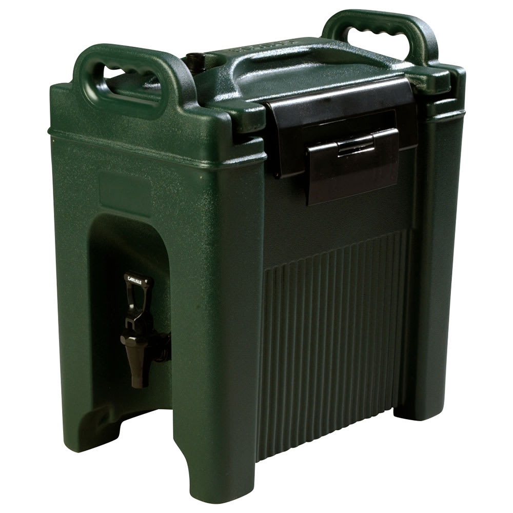 Carlisle XT250008 2.5 gal Beverage Server - Polyethylene, Forest Green