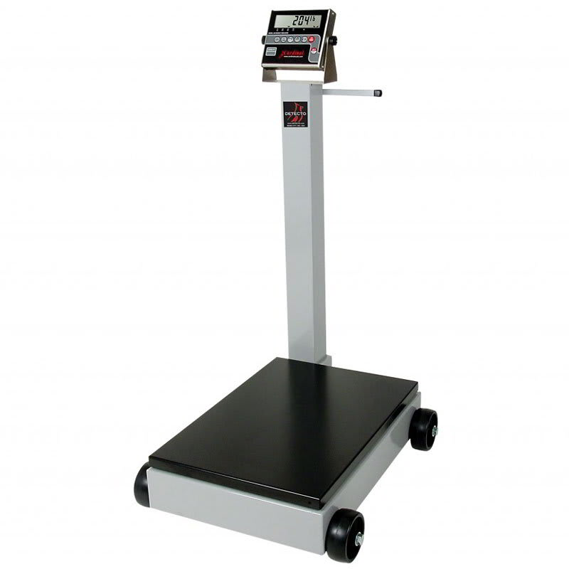 Detecto 8852F-190 1000-lb Digital Portable Scale w/ 190-Weight Display Indicator