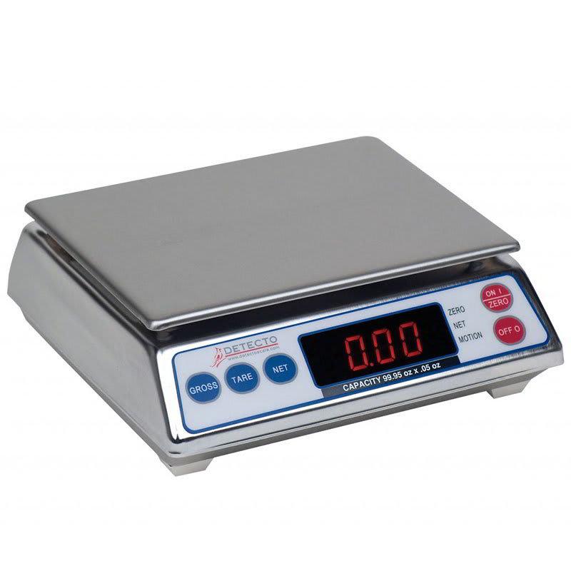 Detecto AP-10 Top Loading Scale w/ Digital Display, 9.995 x .005 lb Capacity