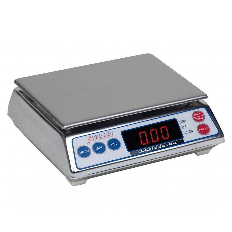 Detecto AP-20 Top Loading Scale w/ Digital Display, 19.99 x .01-lb Capacity