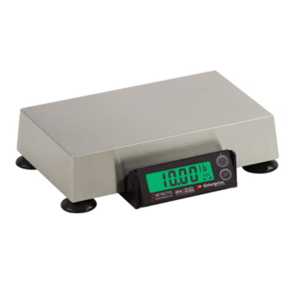 Detecto APS8 15 lb Point-of-Sale Logistics Scale - USB