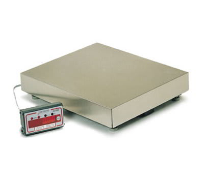 Detecto AS-334D Point of Sale Counter Model Scale w/ LED Display, 17.5 x .01-lb