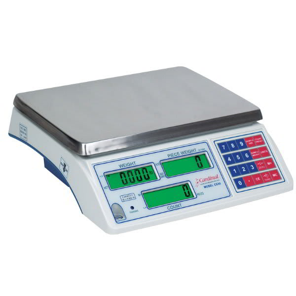 Detecto CS-65 65 lb Counting Scale - Count Accumulator, 115v