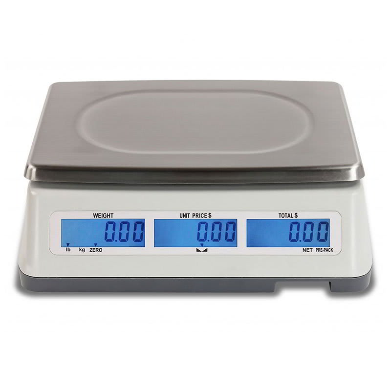 Detecto D60 60-lb Price Computing Scale - Front & Back Display, 110/120v