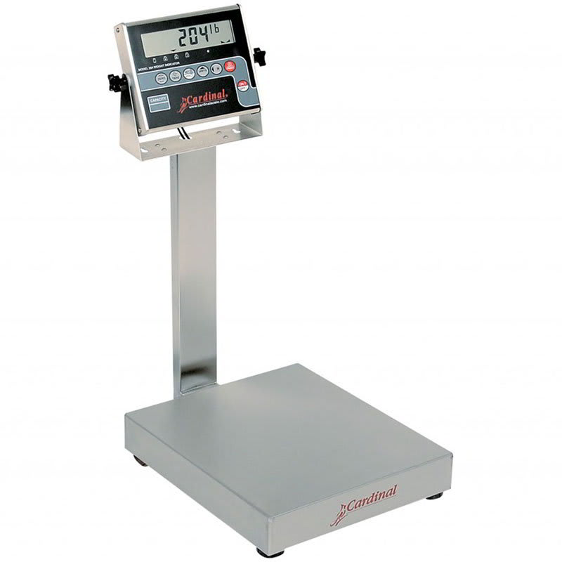 Detecto EB-150-204 Digital Bench Scale, lb/kg Conversion, 204 Weight Display, 150 x .05-lb