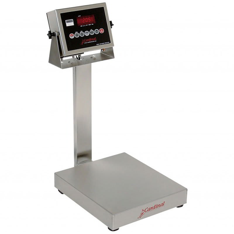 Detecto EB-150-205 Digital Bench Scale, lb/kg Conversion, 205 Weight Display, 150 x .05-lb