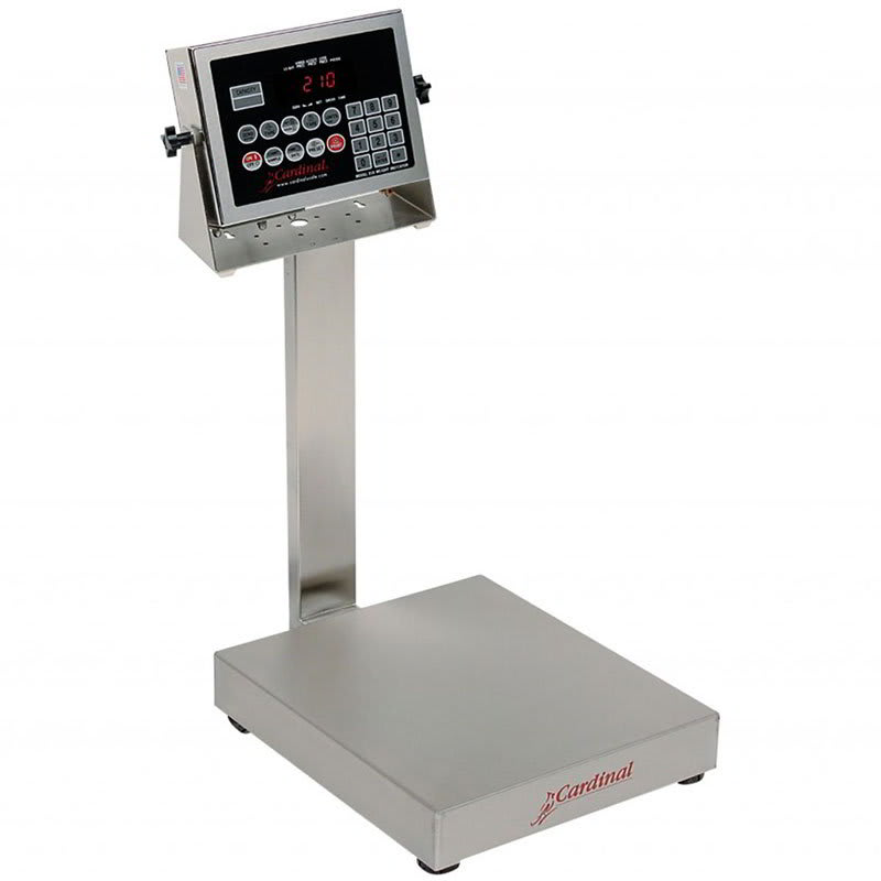 Detecto EB-60-210 Digital Bench Scale, lb/kg Conversion, 210 Weight Display, 60 x .02 lb