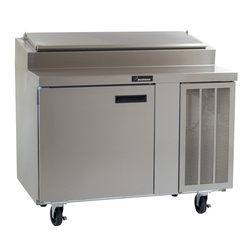 "Delfield 18648PTL 48"" Pizza Prep Table w/ Refrigerated Base, 115v"