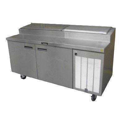 "Delfield 18660PTBMP 60"" Pizza Prep Table w/ Refrigerated Base, 115v"