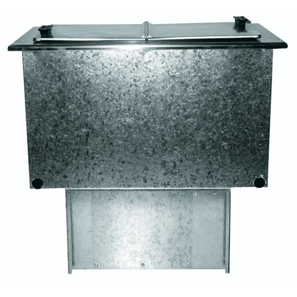 "Delfield 225L 16.56"" Drop In Ice Cream Freezer w/ 6-Tub Capacity, 115v"