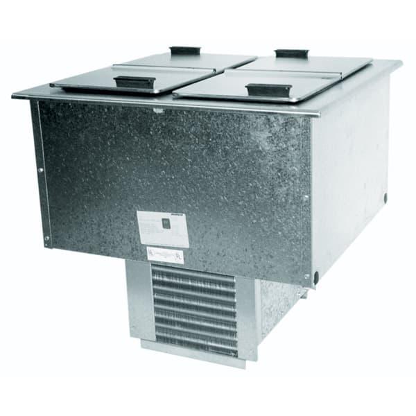 "Delfield 227L 30"" Drop In Ice Cream Freezer w/ 12-Tub Capacity, 115v"