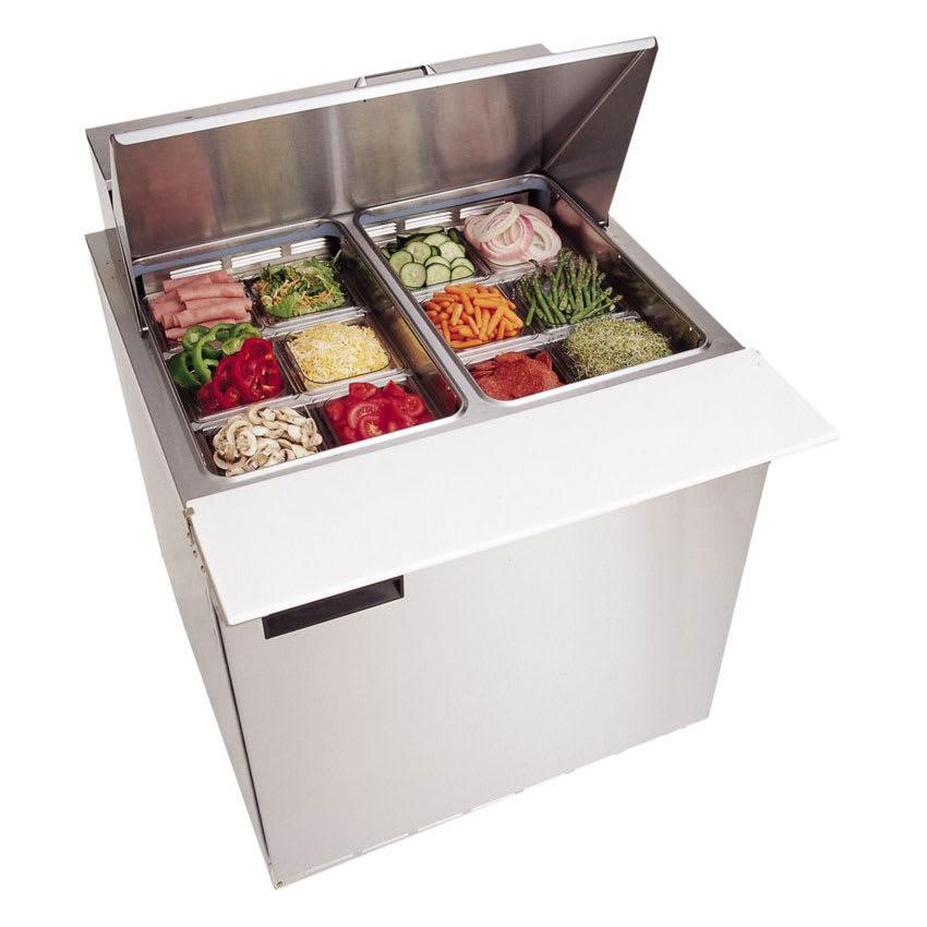 "Delfield 4432N-12M 32"" Sandwich/Salad Prep Table w/ Refrigerated Base, 115v"