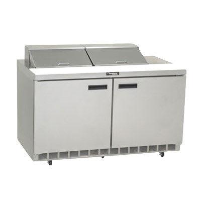 "Delfield 4460N-12 60"" Sandwich/Salad Prep Table w/ Refrigerated Base, 115v"