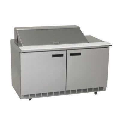 "Delfield 4460N-18M 60"" Sandwich/Salad Prep Table w/ Refrigerated Base, 115v"
