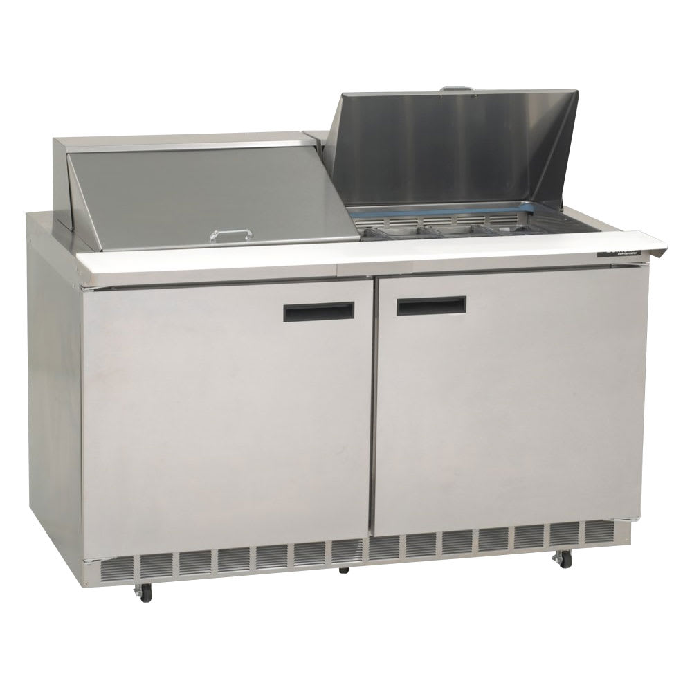 "Delfield 4460N-24M 60"" Sandwich/Salad Prep Table w/ Refrigerated Base, 115v"
