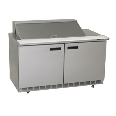 "Delfield 4464N-18M 64"" Sandwich/Salad Prep Table w/ Refrigerated Base, 115v"