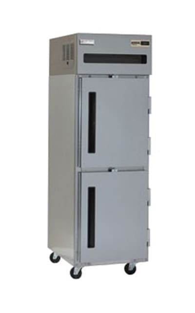 """Delfield 6125XL-SH 25.5"""" Single Section Reach-In Freezer, (2) Solid Doors, 115v"""