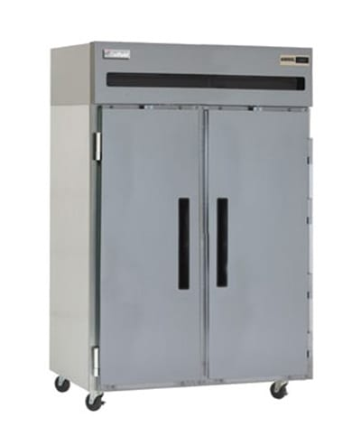 """Delfield 6151XL-S 51"""" Two Section Reach-In Freezer, (2) Solid Doors, 115v"""