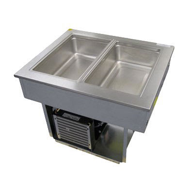 """Delfield 8186-EF 86"""" Drop-In Refrigerator w/ (6) Pan Capacity, Cold Wall Cooled, 115v"""