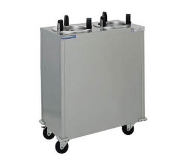 """Delfield CAB2-1013 Dish Dispenser w/ 2-Tubes, Maximum 10.12"""" Dish"""