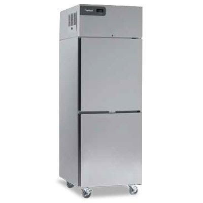 "Delfield CSFPT2P-S 55"" Two Section Pass-Thru Freezer, (2) Solid Doors, 115v"