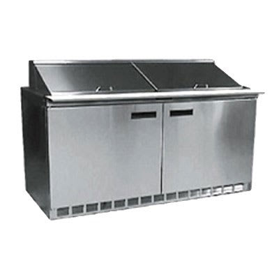 "Delfield D4464N-16 64"" Sandwich/Salad Prep Table w/ Refrigerated Base, 115v"