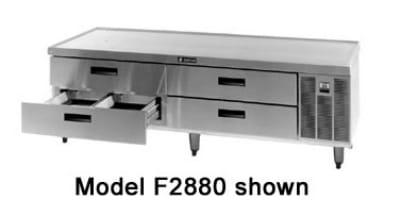"Delfield F2875 75"" Chef Base w/ (4) Drawers - 115v"