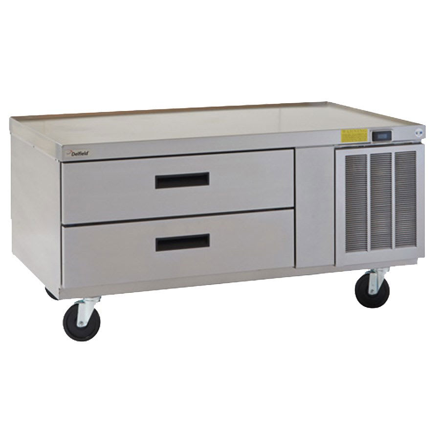 "Delfield F2936CP 36.25"" Chef Base w/ (2) Drawers - 115v"