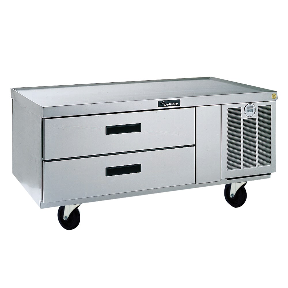 "Delfield F2952CP 52"" Chef Base w/ (2) Drawers - 115v"