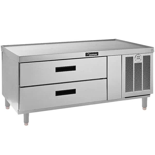 "Delfield F2952P 52.25"" Chef Base w/ (2) Drawers - 115v"