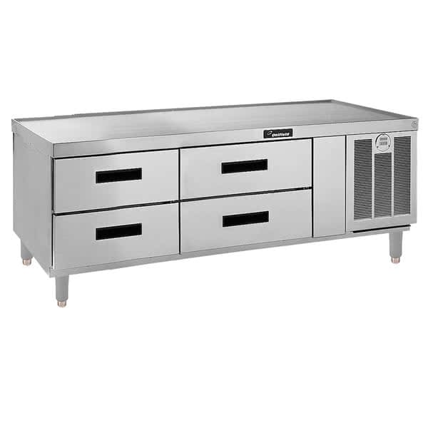 "Delfield F2962P 62.25"" Chef Base w/ (4) Drawers - 115v"