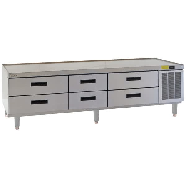 "Delfield F2987P 87.25"" Chef Base w/ (6) Drawers - 115v"