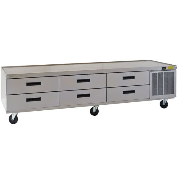 "Delfield F2999CP 99.25"" Chef Base w/ (6) Drawers - 115v"