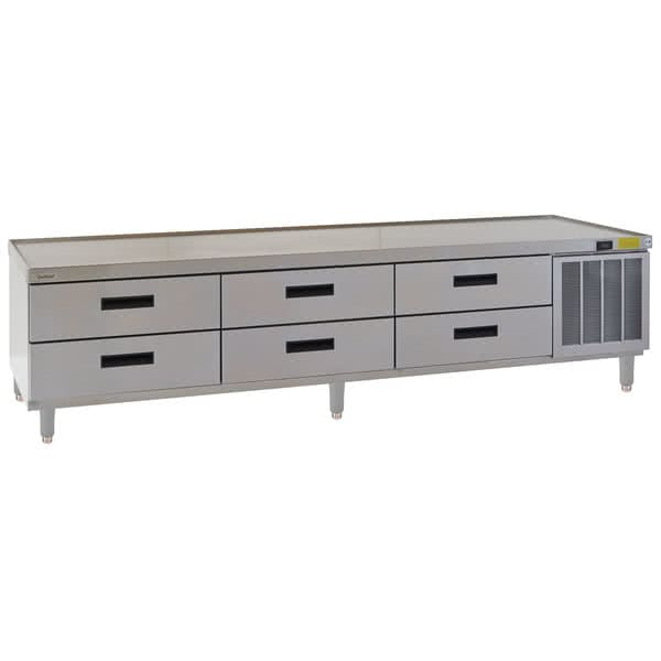 "Delfield F2999P 99.25"" Chef Base w/ (6) Drawers - 115v"