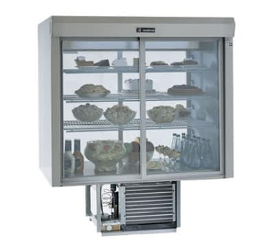 "Delfield F5SC72D 72"" Full Service Deli Case w/ Straight Glass - (4) Levels, 115v"