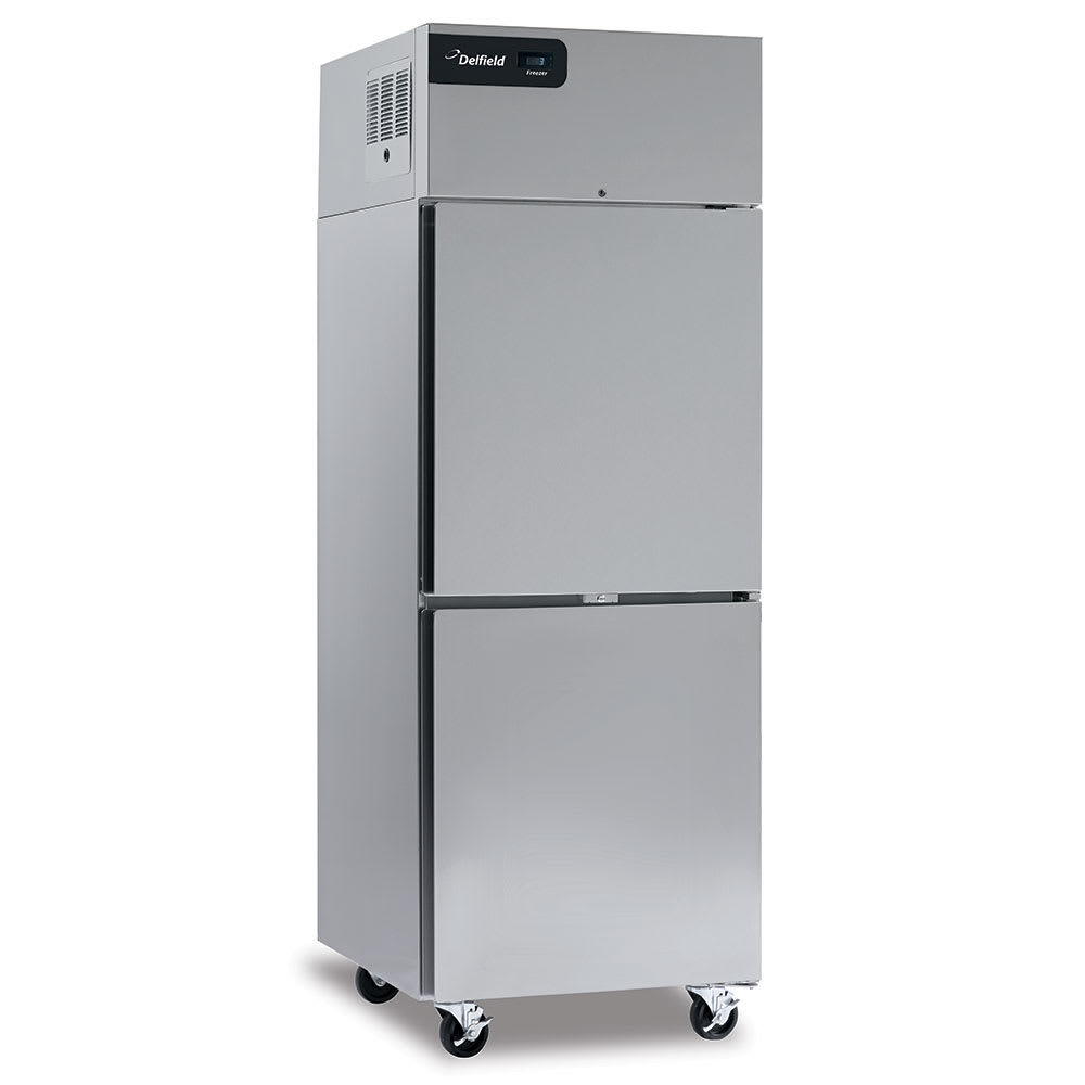 "Delfield GBF1P-SH 27.4"" Single Section Reach-In Freezer, (2) Solid Doors, 115v"