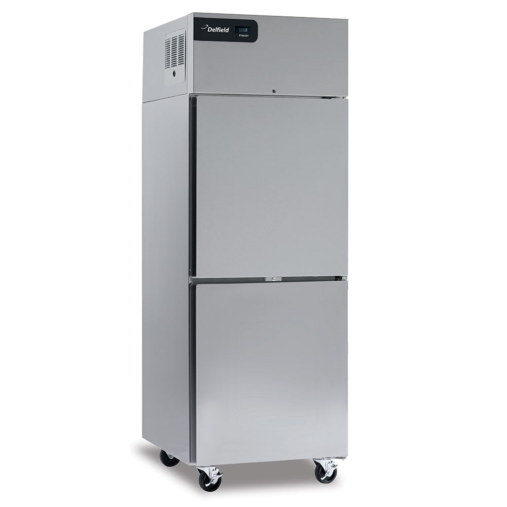 "Delfield GBSF1P-SH 27.4"" Single Section Reach-In Freezer, (2) Solid Doors, 115v"