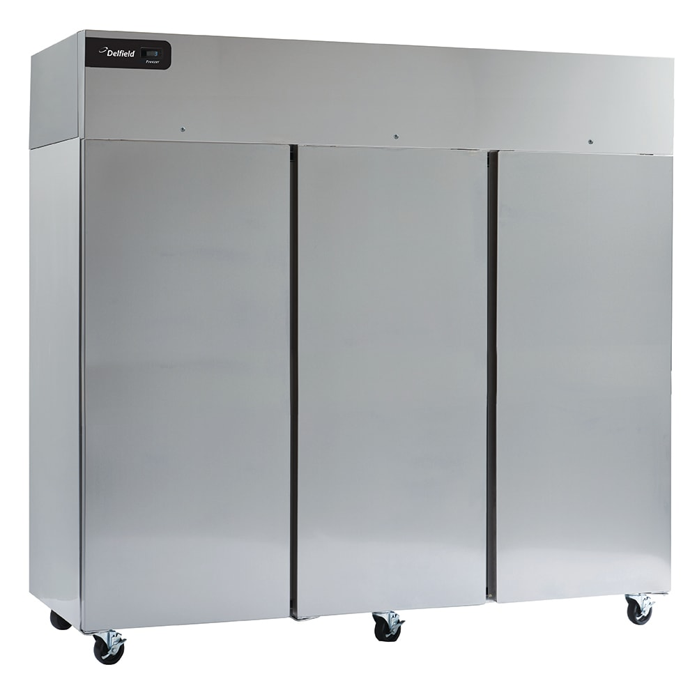 "Delfield GBSR3P-S 83"" Three Section Reach-In Refrigerator, (3) Solid Doors, 115v"