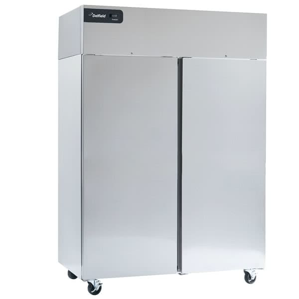 "Delfield GCF2P-S 55.2"" Two Section Reach-In Freezer, (2) Solid Doors, 115v"