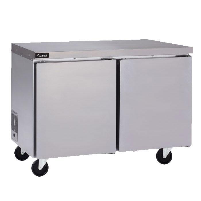 Delfield GUF48P-S 9.2-cu ft Undercounter Freezer w/ (2) Sections & (2) Doors, 115v