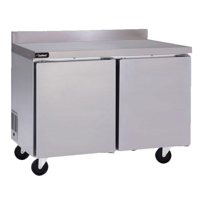 Delfield GUF60BP-S 11.7 cu ft Worktop Freezer w/ (2) Sections & (2) Doors, 115v