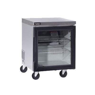 "Delfield GUR24P-G 24"" Worktop Refrigerator w/ (1) Section, 115v"