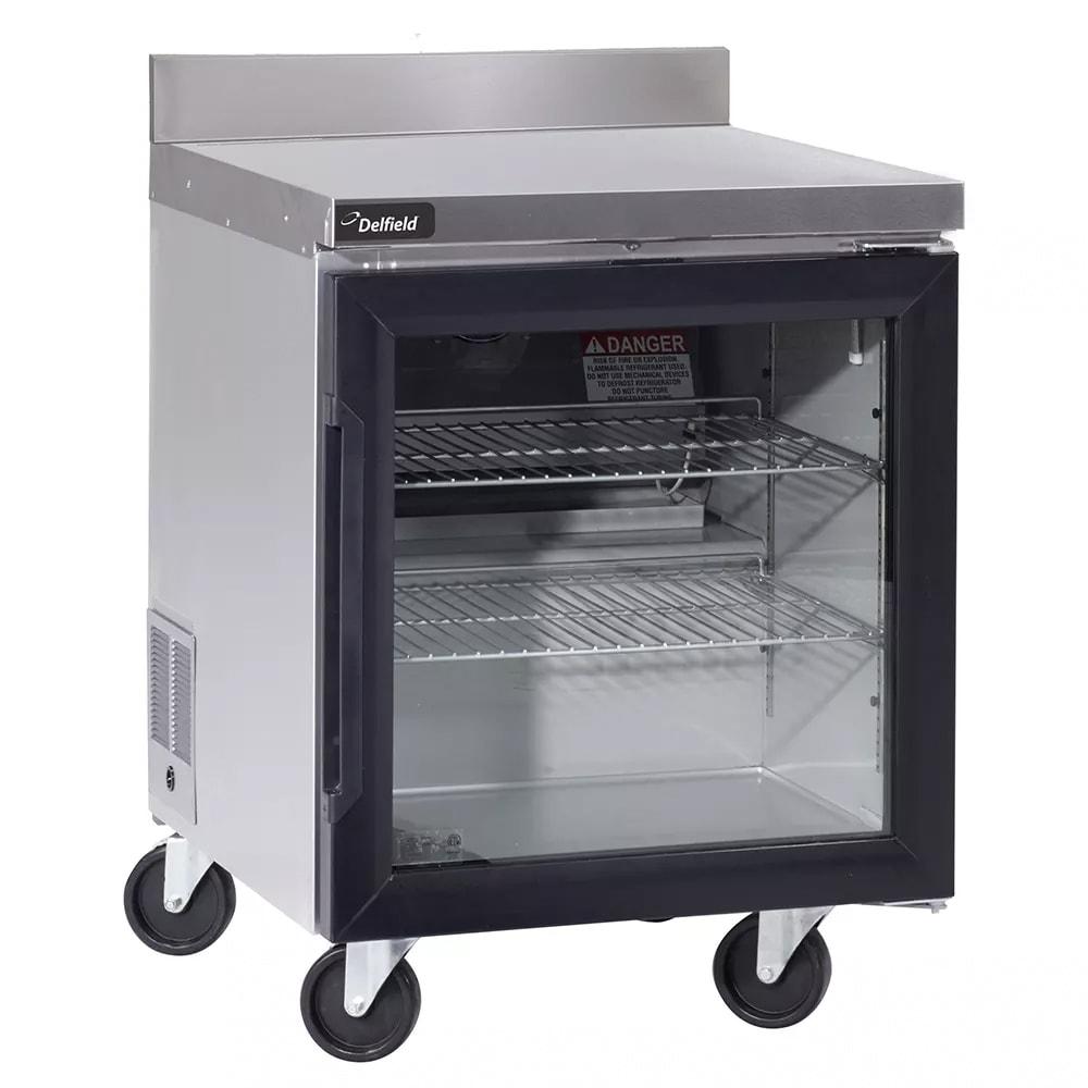 "Delfield GUR27BP-G 27"" Worktop Refrigerator w/ (1) Section, 115v"