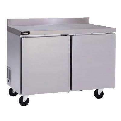 "Delfield GUR32BP-S 32"" Worktop Refrigerator w/ (1) Section, 115v"