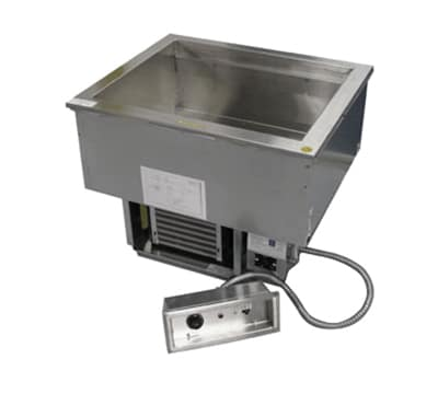 "Delfield N8630 30"" Drop-In Hot/Cold Food Well, 2 Pan Size, 120v"