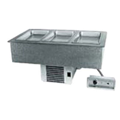Delfield N8643 Drop-In Hot & Cold Food Well w/ (3) Full Size Pan Capacity, 120 240v/1ph